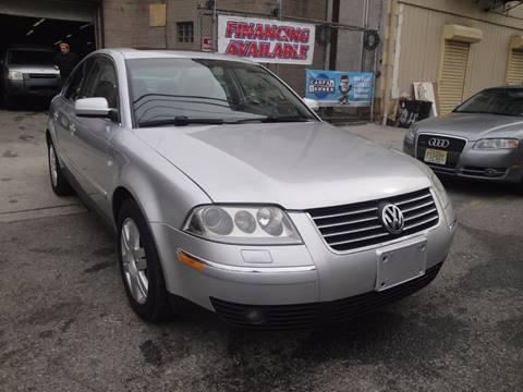 2003 Volkswagen Passat for sale at Discount Auto Sales in Passaic NJ