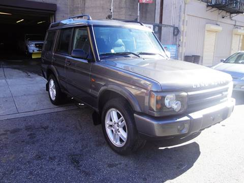 2003 Land Rover Discovery for sale at Discount Auto Sales in Passaic NJ