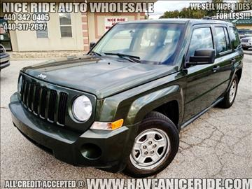 2008 Jeep Patriot for sale in Eastlake, OH