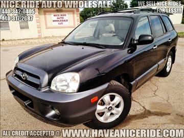 2006 Hyundai Santa Fe for sale in Eastlake, OH