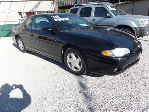 2002 Chevrolet Monte Carlo for sale in Lafayette, IN