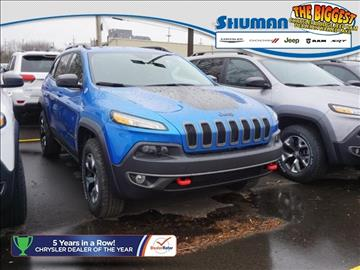 2017 Jeep Cherokee for sale in Walled Lake, MI