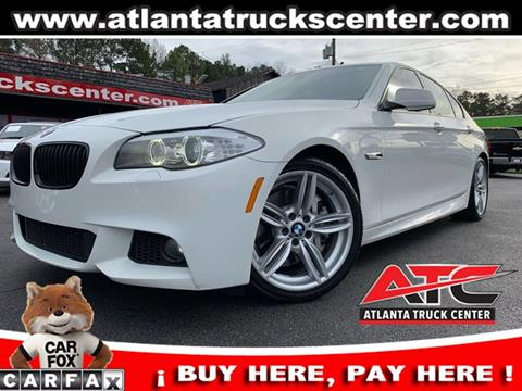 2013 BMW 5 Series for sale in Brookhaven, GA