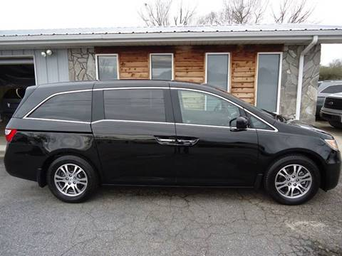 2012 Honda Odyssey EX-L for sale at Toneys Auto Sales in Forest City NC