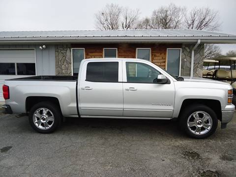 2015 Chevrolet Silverado 1500 LT for sale at Toneys Auto Sales in Forest City NC
