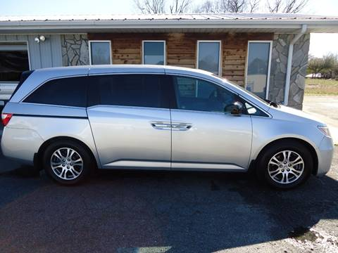 2011 Honda Odyssey EX-L w/DVD for sale at Toneys Auto Sales in Forest City NC