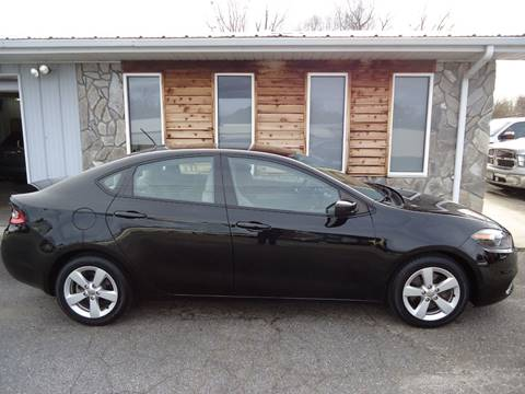 2015 Dodge Dart SXT for sale at Toneys Auto Sales in Forest City NC