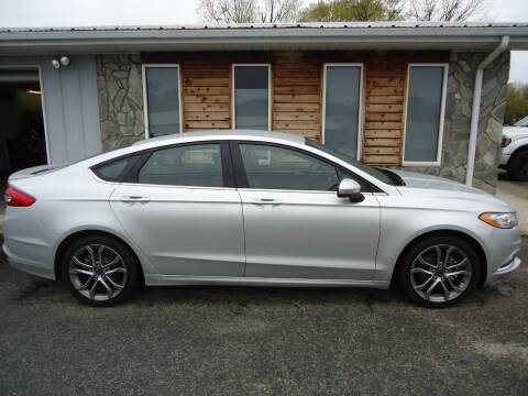 2017 Ford Fusion SE for sale at Toneys Auto Sales in Forest City NC