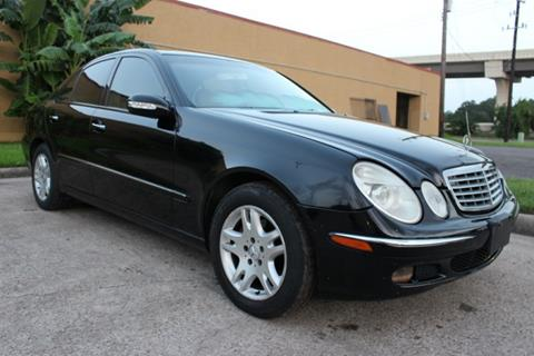 2004 Mercedes-Benz E-Class for sale in Houston, TX