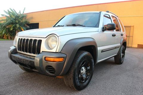 2004 Jeep Liberty for sale in Houston, TX