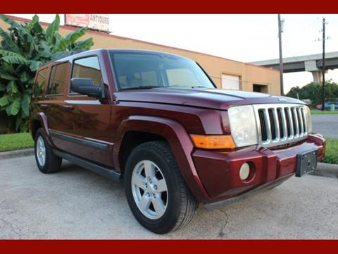 2007 Jeep Commander for sale in Houston, TX