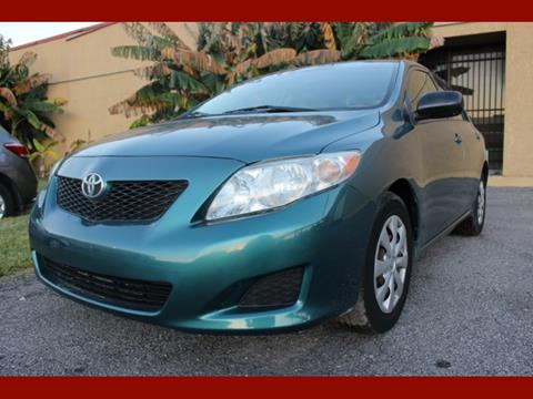 2009 Toyota Corolla for sale in Houston, TX