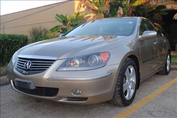 2005 Acura RL for sale in Houston, TX