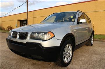 2004 BMW X3 for sale in Houston, TX