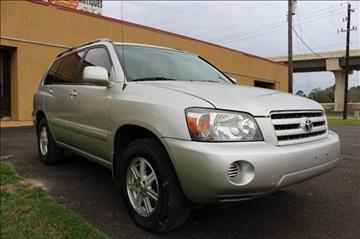 2006 Toyota Highlander for sale in Houston, TX