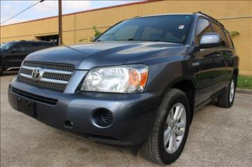 2006 Toyota Highlander Hybrid for sale in Houston, TX