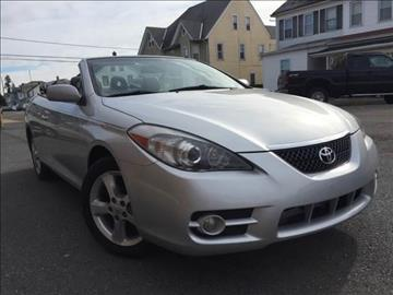 2008 Toyota Camry Solara for sale at Majestic Auto Trade in Easton PA