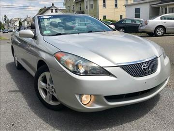 2004 Toyota Camry Solara for sale at Majestic Auto Trade in Easton PA