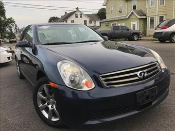 2006 Infiniti G35 for sale at Majestic Auto Trade in Easton PA