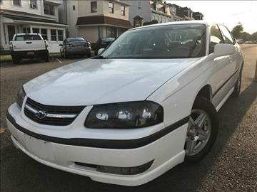 2003 Chevrolet Impala for sale in Easton, PA