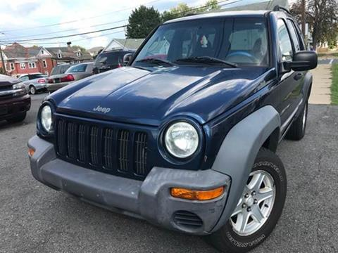 2002 Jeep Liberty for sale at Majestic Auto Trade in Easton PA