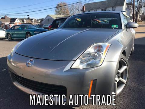 2003 Nissan 350Z for sale at Majestic Auto Trade in Easton PA