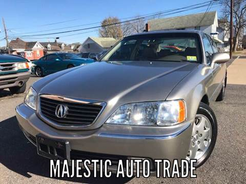 2002 Acura RL for sale at Majestic Auto Trade in Easton PA