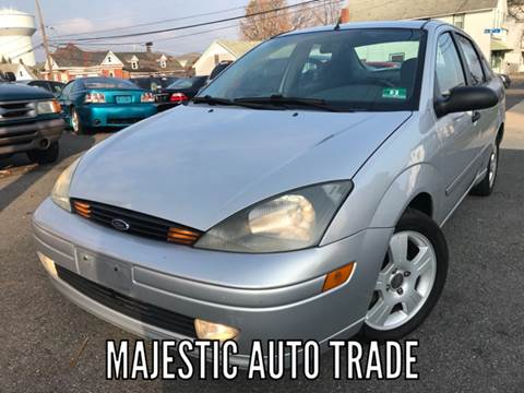 2003 Ford Focus for sale at Majestic Auto Trade in Easton PA