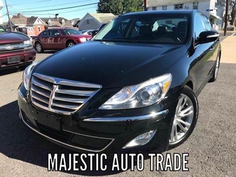 2012 Hyundai Genesis for sale at Majestic Auto Trade in Easton PA