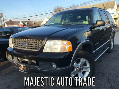 2002 Ford Explorer for sale at Majestic Auto Trade in Easton PA