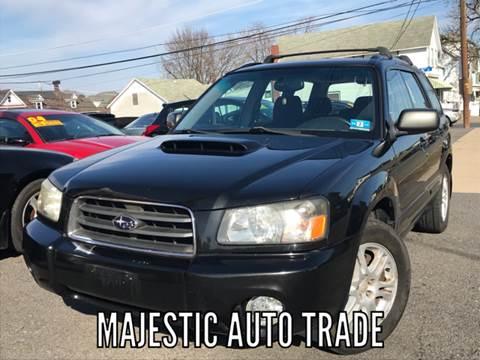 2004 Subaru Forester for sale at Majestic Auto Trade in Easton PA