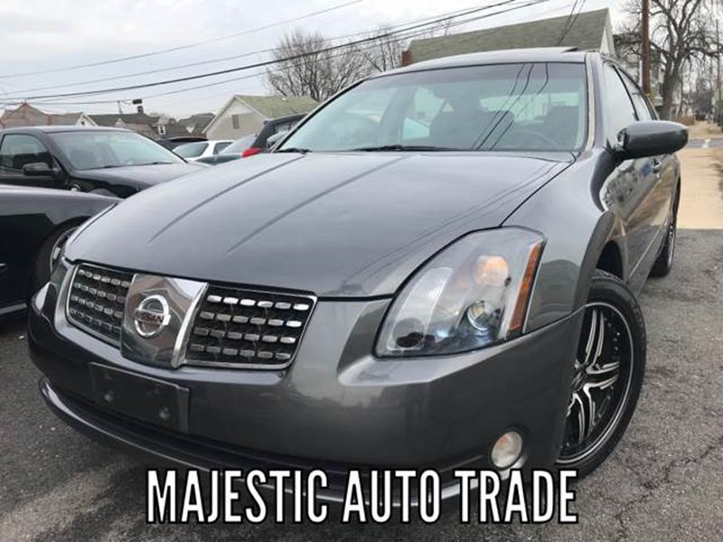 2004 Nissan Maxima 35 Se 4dr Sedan In Easton Pa Majestic Auto Trade