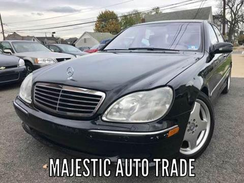 2001 Mercedes-Benz S-Class for sale at Majestic Auto Trade in Easton PA
