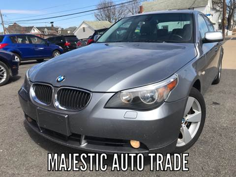 2007 BMW 5 Series for sale at Majestic Auto Trade in Easton PA