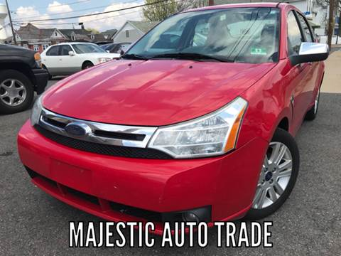 2008 Ford Focus for sale at Majestic Auto Trade in Easton PA