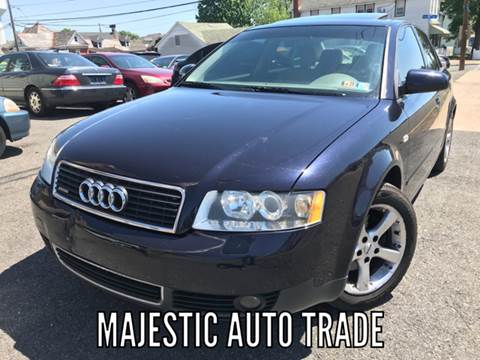 2003 Audi A4 for sale at Majestic Auto Trade in Easton PA