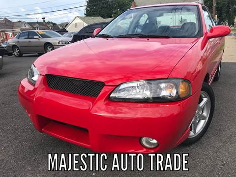 2002 Nissan Sentra for sale at Majestic Auto Trade in Easton PA