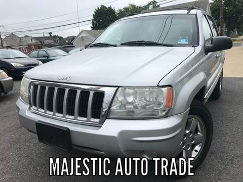 2004 Jeep Grand Cherokee for sale at Majestic Auto Trade in Easton PA