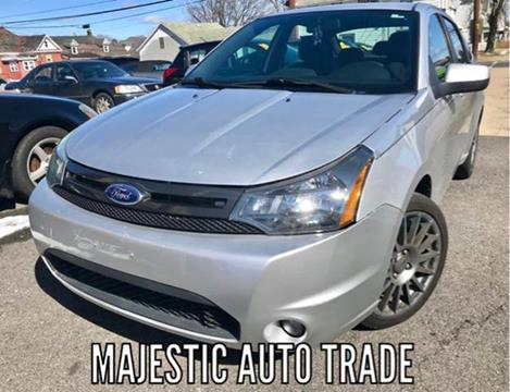 2011 Ford Focus for sale at Majestic Auto Trade in Easton PA