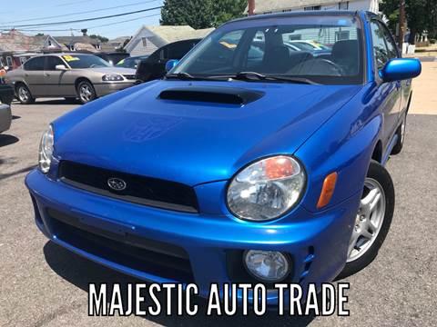 2002 Subaru Impreza for sale at Majestic Auto Trade in Easton PA