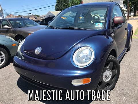 2000 Volkswagen New Beetle for sale at Majestic Auto Trade in Easton PA