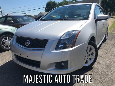 2011 Nissan Sentra for sale at Majestic Auto Trade in Easton PA