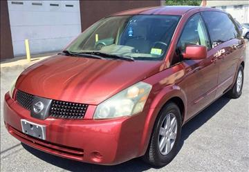 2004 Nissan Quest for sale at Majestic Auto Trade in Easton PA