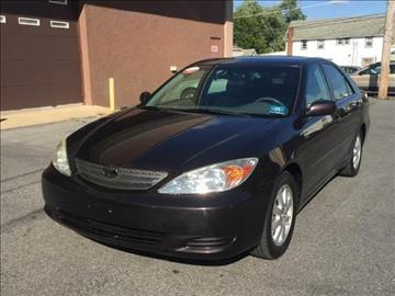 2002 Toyota Camry for sale at Majestic Auto Trade in Easton PA