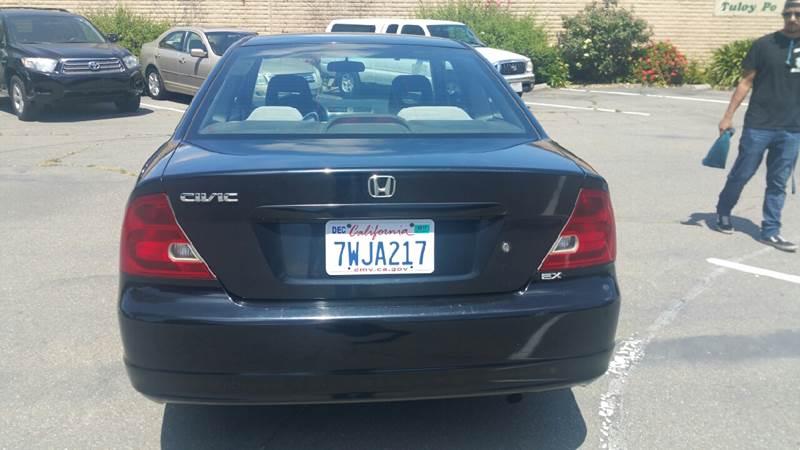 2002 Honda Civic EX 2dr Coupe - Fremont CA