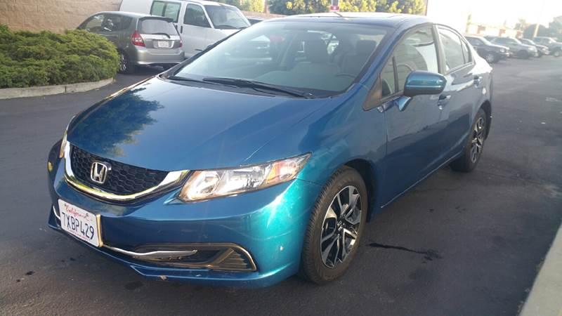 2014 Honda Civic EX 4dr Sedan - Fremont CA