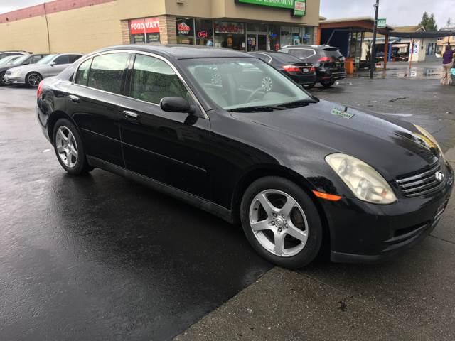 2003 Infiniti G35 Luxury 4dr Sedan w/Leather - Fremont CA