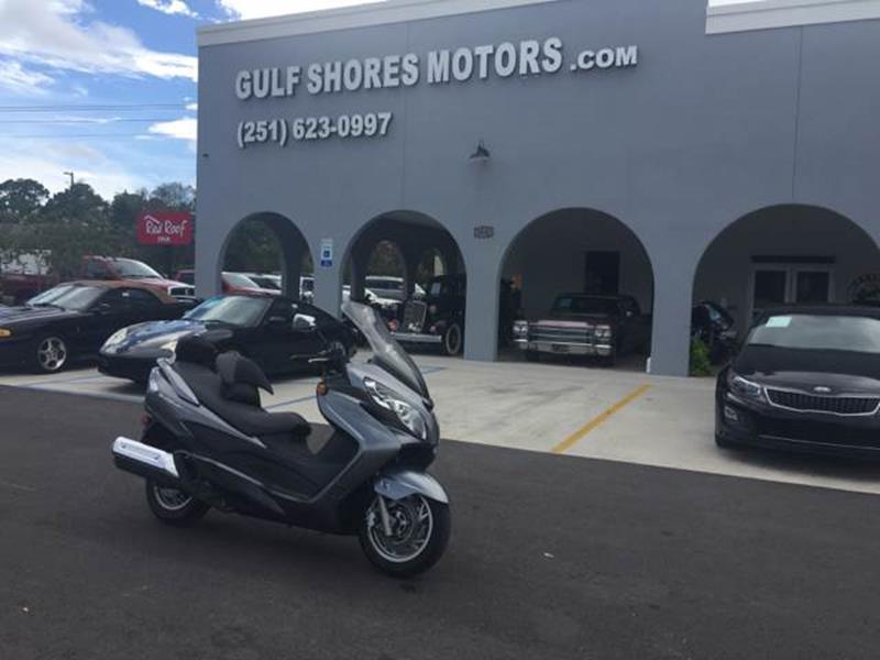 2007 Suzuki Burgman for sale at Highway 59 Automart in Gulf Shores AL