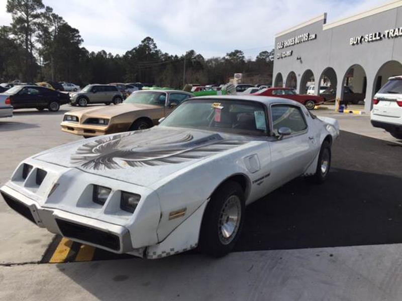 1980 Pontiac Trans Am for sale at Highway 59 Automart in Gulf Shores AL