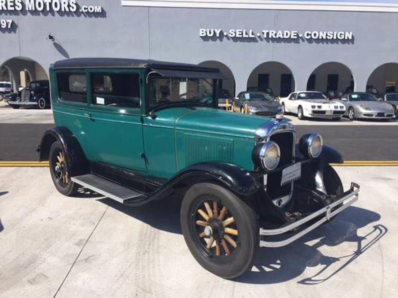1928 Pontiac Chieftain for sale at Highway 59 Automart in Gulf Shores AL